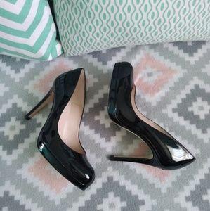 L.K.Bennett Black Sledge Heels